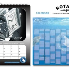 Rotary Watches Calendars and Wallcharts