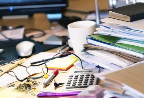 Spring clean my messy desk