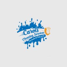 Carols Cleaning Logo Design