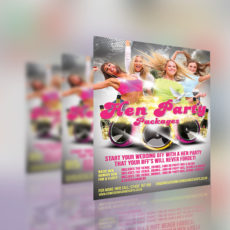 Hen Party Flyer