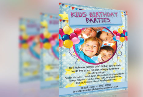 Kids Party Leaflet