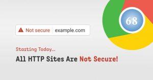 Chrome Secure warning