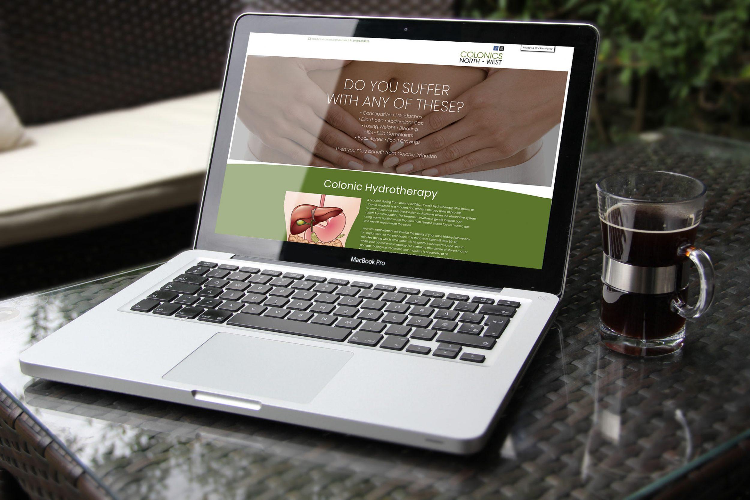 new website homepage redesign